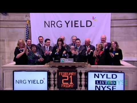 NRG Yield, Inc. Visits the NYSE