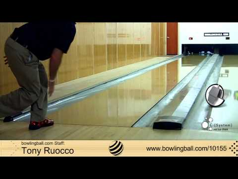 Brunswick C (System) Versa Max Bowling Ball Reaction Video by bowlingball.com