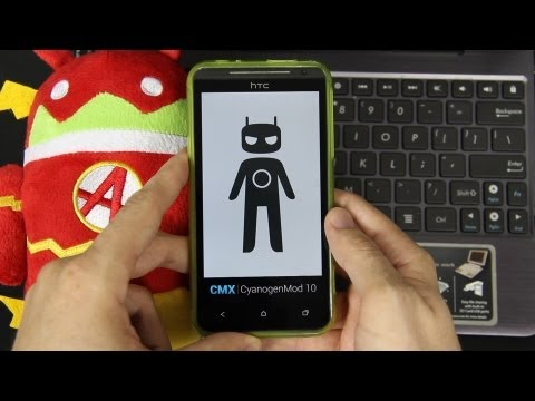 My Review of CyanogenMod 10 (CM10) Android 4.1.2 on the HTC EVO 4G LTE