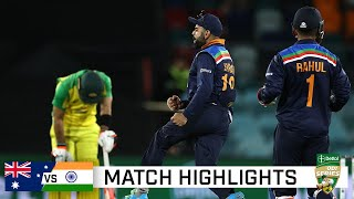 India hold their nerve to win ODI epic in Canberra | Dettol ODI Series 2020