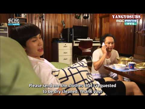 [ENG SUB] 150810 Tundra Show Innocent Family Ep 3 - Part 2