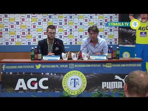 Tisková konference domácího trenéra po utkání Teplice - Karviná (16.9.2018)