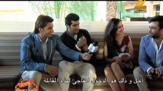 Ranveer Singh & Arjun Kapoor Interview on Zee Aflam (Gunday)