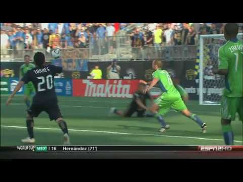 Philadelphia Union vs Seattle Sounders 3-1 Game 11 Video