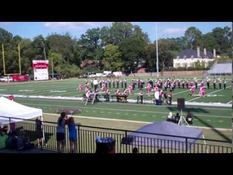 Alabama Christian Academy Marching Eagle Band - Huntingdon College Invitational, Oct 2013