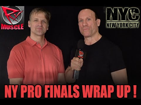 2016 NEW YORK PRO FINALS WRAP-UP with ACETO & PALUMBO!