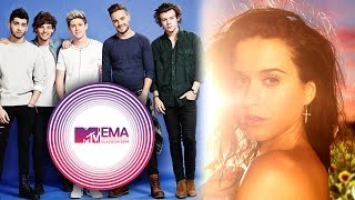 One Direction Video - One Direction, Katy Perry, Ariana Grande Score 2014 MTV EMA Nominations!