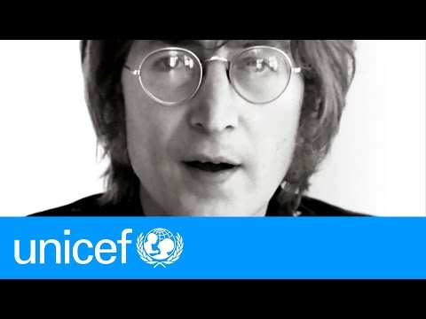 OFFICIAL VERSION: Sing IMAGINE with John Lennon and your favourite stars | UNICEF