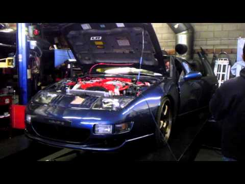 Mike's 300ZX Z32 NA Dyno