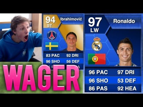 BIGGEST WAGER EVER!! - TOTS RONALDO + TOTS IBRAHIMOVIC - Fifa 13 Ultimate Team