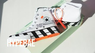 Off-White™ x Converse Chuck 70 Unboxing