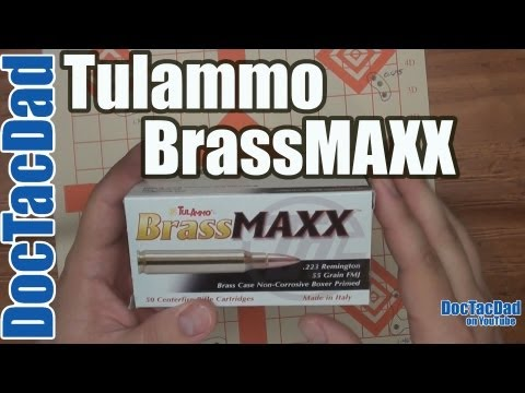 NEW - Tulammo BrassMAXX .223 Rem - Ammo Review