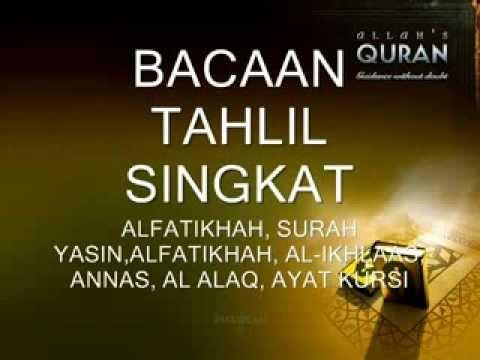 Harga doa tahlil