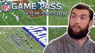 Andrew Luck Breaks Down Colts Top Offensive Plays | NFL Film Session