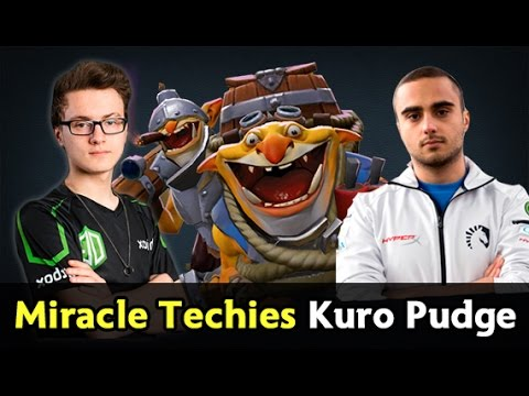 Miracle Techies, Kuroky Pudge — Liquid vs pub