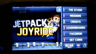 Jetpack joyride All the things! gold trophy (PS Vita)
