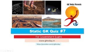 GKToday's Static GK Quiz-7