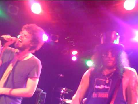 By The Sword - Slash Live At The Roxy April 10th 2010, Kick Off Tour (By Coy Clark)