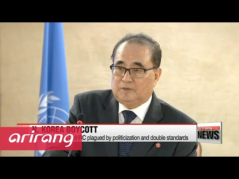 N. Korea boycotts UN Human Rights Council