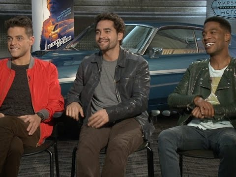 Rami Malek, Ramon Rodriguez and Scott Mescudi Talk 'Need for Speed'