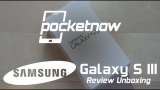 Samsung Galaxy S III Review Unboxing