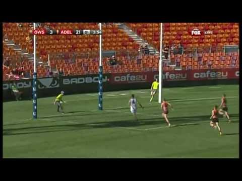 Round 7 AFL - GWS Giants v Adelaide Crows Highlights