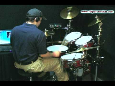 Trigger EZDrummer With Electronic Drums!