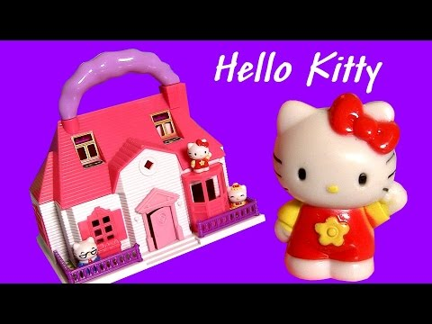 HELLO KITTY Mini Doll House Carry Along Playset ハローキティ   キティ・ホワイト Review