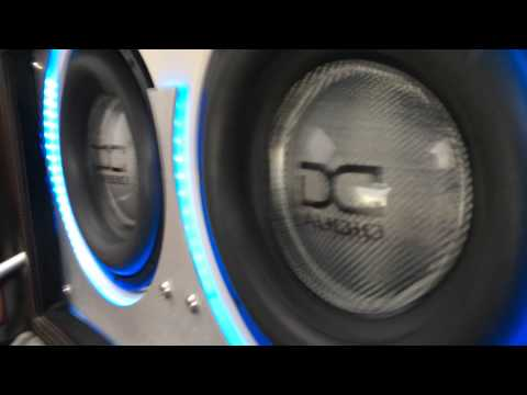 Wicks' E46 M3 DC Audio XL12's playing after a recent recone.