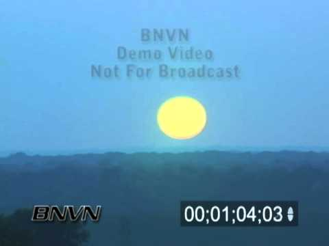 7/30/2007 Time-lapse Sunset Footage