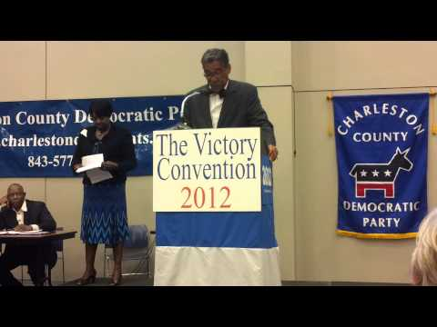 SC State Senate Candidate Fritz Fielding at CCDP 2012 Victory Convention