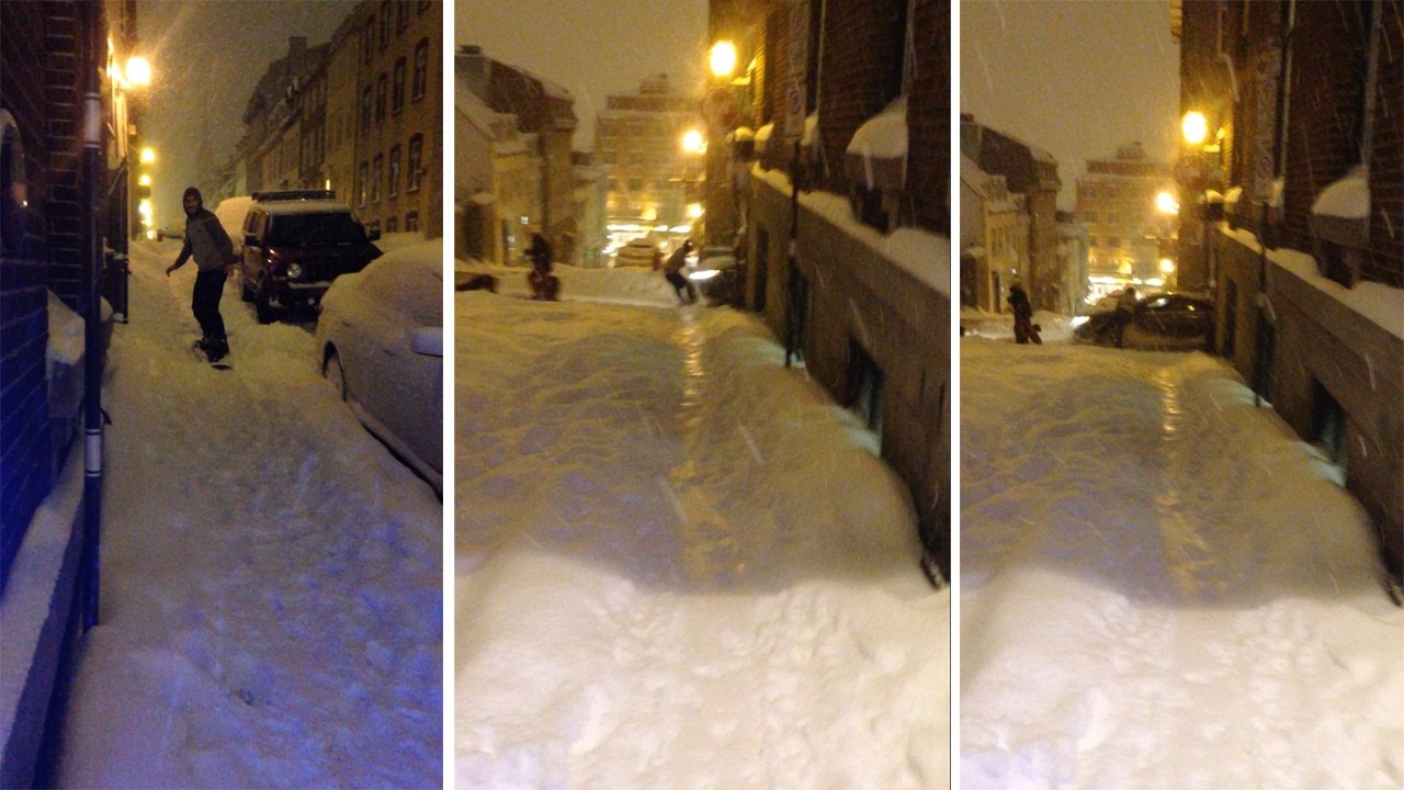 [Why You Snowboard On Hills Not Streets] Video