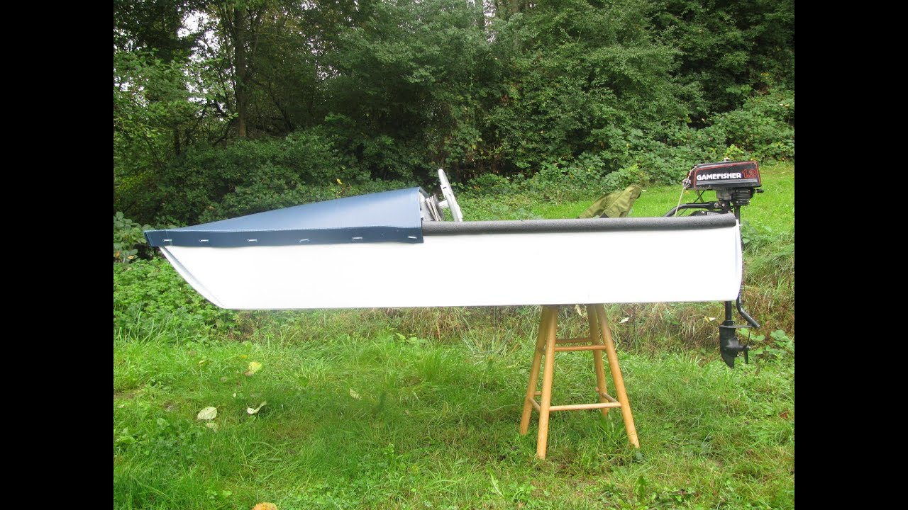 One Sheet Coroplast Speedboat Youtube