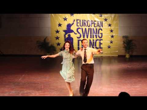 ESDC 2012 - Classic Lindy Hop Showcase Dax Hock & Sarah Breck