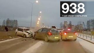 Car Crash Compilation 938 - November 2017