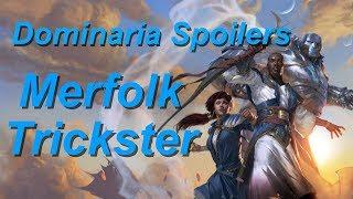 NEW TRICKSY MERFOLK SPOILED! Merfolk Trickster from Dominaria! (Nikachu)