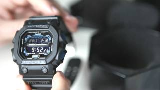GXW56E Black x Blue King G-Shock