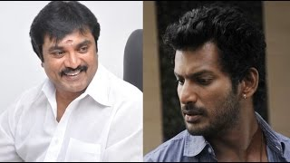 Sarathkumar and Vishal compete with each other in Helping others | Nadigar Sangam