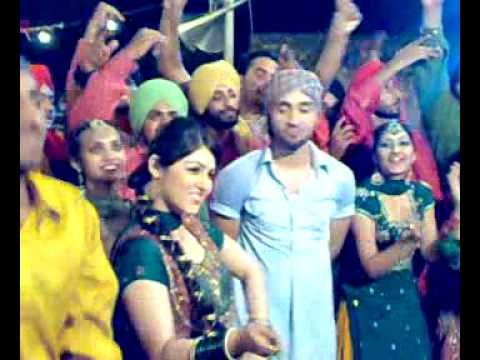 Shooting Of Desi Daaru Song Of Daljit By Mohan Singh video