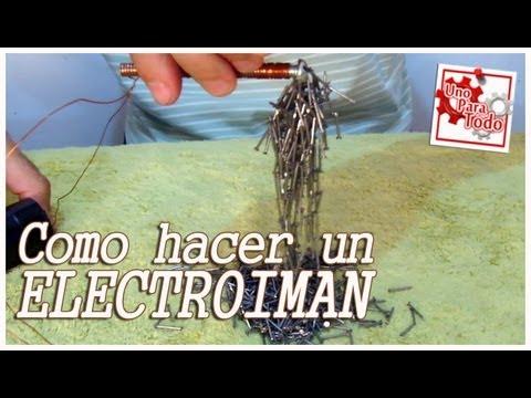 Como hacer un electroimán