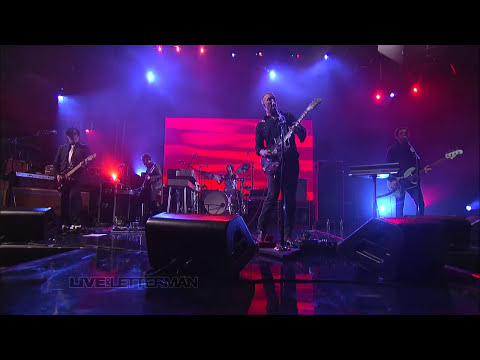 I Sat By The Ocean (Live on Letterman)
