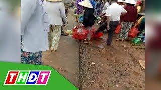 Trưởng công an xã đá bay thau cá của người dân | THDT