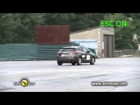 Euro NCAP | Mazda 3 | 2013 | Электронный контроль устойчивости