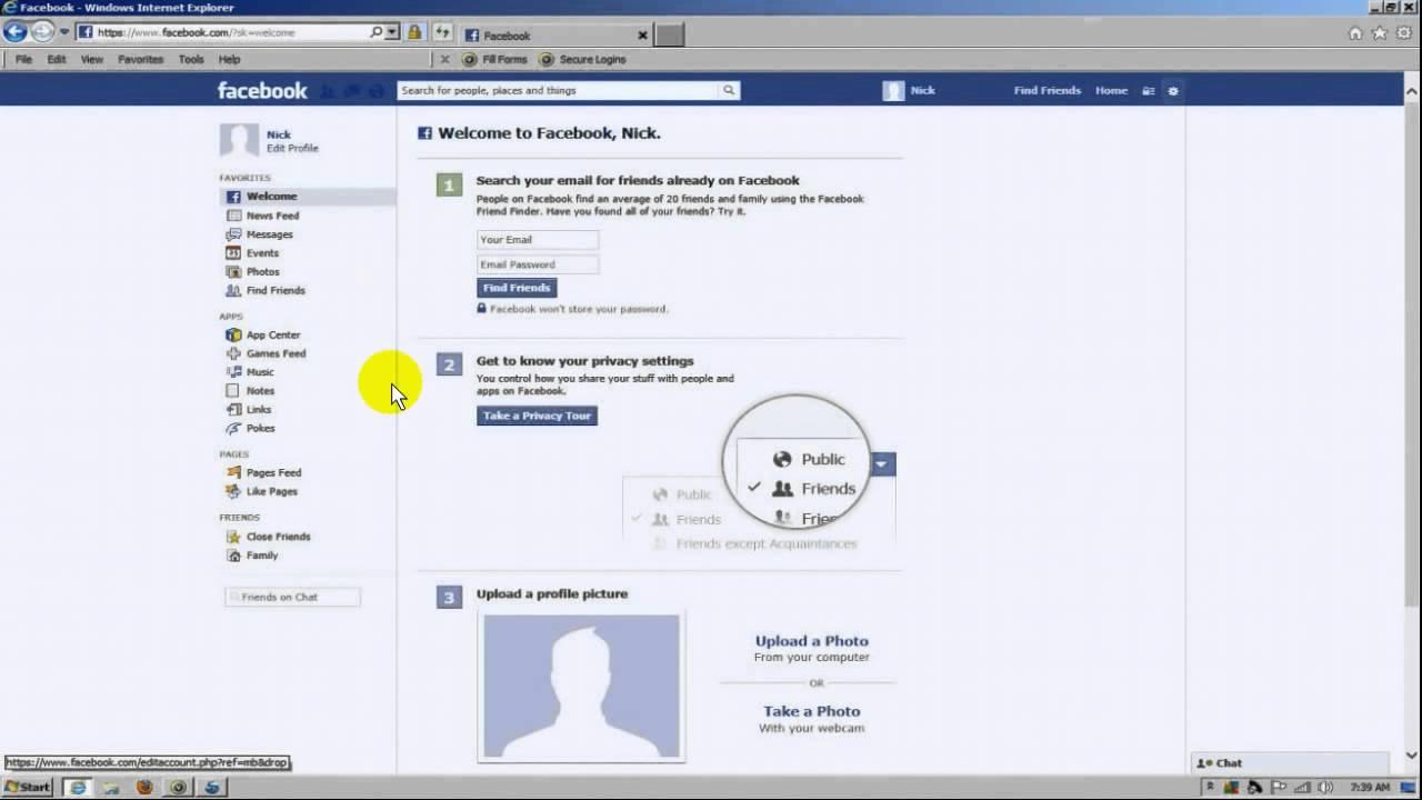 20+ Facebook Log In Or Sign Up Gif