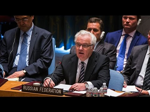 Russia's UN ambassador accuses the world of taking Ukraine's side