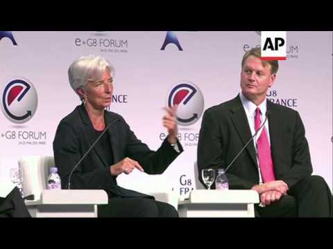 Christine Lagarde, the chief of the International Monetary Fund, was on Wednesday put under official