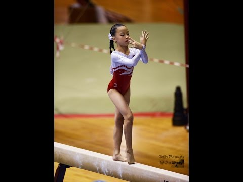 8th National Artistic Gymnastic WAG Level 2 PT 4 Balance Beam by Jeffini Photography
