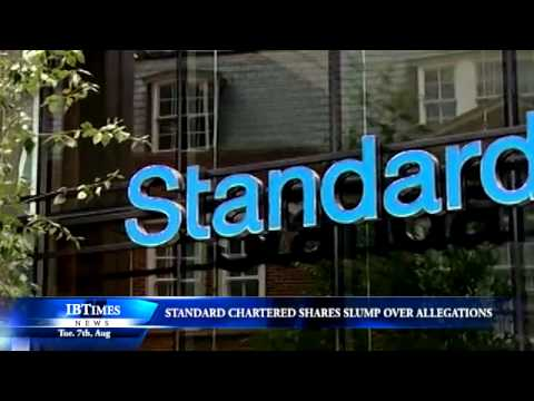 Standard Chartered shares slump over allegations