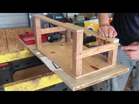 How to Build a Mining Rig Frame Out of Wood