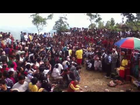 "A video that shows how animals are given ""bali"" in hindu's greatest festival Dashain. The video is recorded in the western part of Nepal i.e. Gulmi district,..."
